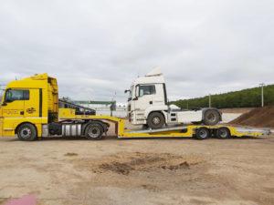 asistencia camión