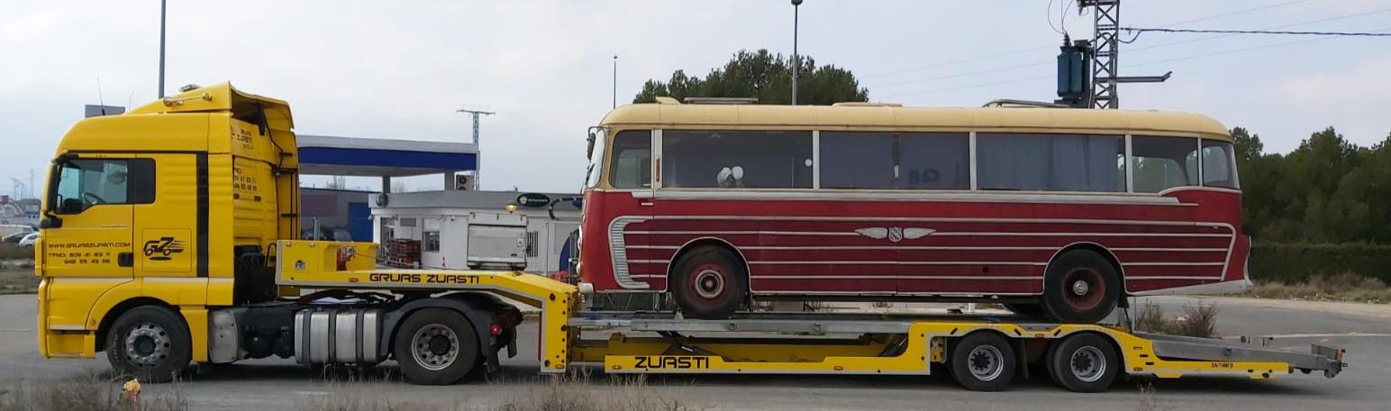 asistencia en carretera: autobus